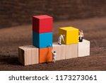 miniature people worker... | Shutterstock . vector #1173273061