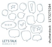 speech bubble talk traditional...   Shutterstock .eps vector #1173275284