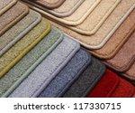 samples of carpet | Shutterstock . vector #117330715