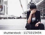 portraits of beautiful asian... | Shutterstock . vector #1173315454