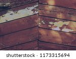 vintage wooden surface covered... | Shutterstock . vector #1173315694