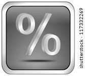 discount button with percent... | Shutterstock . vector #117332269