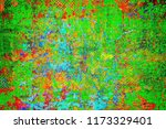 multicolored grunge texture.... | Shutterstock . vector #1173329401
