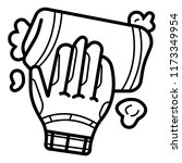 hand with rag icon | Shutterstock .eps vector #1173349954