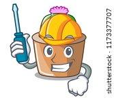 automotive mascot star cactus...   Shutterstock .eps vector #1173377707