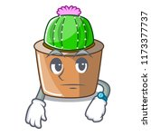 waiting mascot star cactus...   Shutterstock .eps vector #1173377737