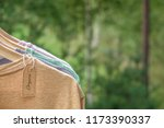 organic clothes. natural... | Shutterstock . vector #1173390337