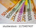 Small photo of Euro Money Banknotes and cash. 50. 100. 200. 500 euro.