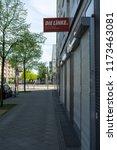 berlin   april 22  2018  a sign ... | Shutterstock . vector #1173463081