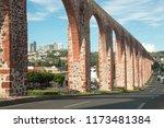 Aqueduct At Queretaro  Mexico ...