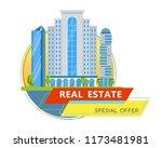 multi storey skyscrapers  a...   Shutterstock .eps vector #1173481981