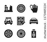 automotive icon. 9 automotive...   Shutterstock .eps vector #1173485224
