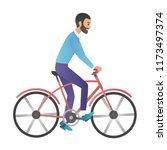 vector cartoon style... | Shutterstock .eps vector #1173497374
