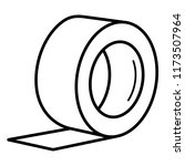 scotch tape. vector flat... | Shutterstock .eps vector #1173507964