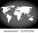 very high detailed map of the... | Shutterstock .eps vector #117351541