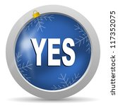 yes icon | Shutterstock . vector #117352075