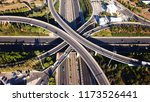 aerial drone photo of urban... | Shutterstock . vector #1173526441