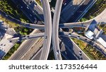 aerial drone photo of urban... | Shutterstock . vector #1173526444