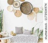 modern minimal home interior... | Shutterstock . vector #1173534574