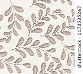 embroidery floral seamless... | Shutterstock .eps vector #1173535267