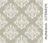 classic seamless vector white...   Shutterstock .eps vector #1173563191