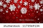christmas illustration with... | Shutterstock .eps vector #1173569134