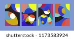 vector abstract colorful...   Shutterstock .eps vector #1173583924