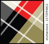 modern scarf pattern | Shutterstock .eps vector #1173594811