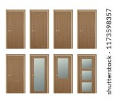 vector realistic different... | Shutterstock .eps vector #1173598357