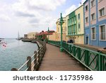 promenade in bridgetown ... | Shutterstock . vector #11735986