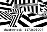 black and white stripes.... | Shutterstock . vector #1173609004