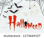 creative text of happy... | Shutterstock .eps vector #1173669157