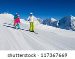 Skiing  Winter  Ski Lesson  ...