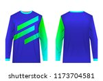 uniforms for competitions  team ... | Shutterstock .eps vector #1173704581