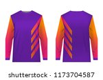 uniforms for competitions  team ... | Shutterstock .eps vector #1173704587
