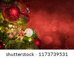 christmas light. christmas and... | Shutterstock . vector #1173739531