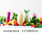 healthy and useful colorful... | Shutterstock . vector #1173804241