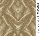 wood textured vector seamless... | Shutterstock .eps vector #1173804784