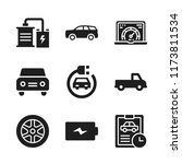 automotive icon. 9 automotive...   Shutterstock .eps vector #1173811534