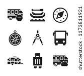 voyage icon. 9 voyage vector... | Shutterstock .eps vector #1173811921