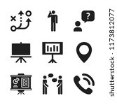 discussion icon. 9 discussion... | Shutterstock .eps vector #1173812077