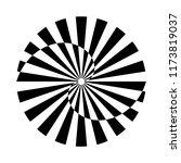 circle rotation design element. ... | Shutterstock .eps vector #1173819037
