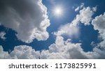 beautiful sky and cloud | Shutterstock . vector #1173825991