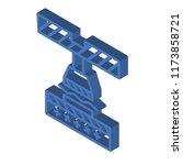 bending isometric left top view ...   Shutterstock .eps vector #1173858721