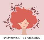 hand drawn flat  vector... | Shutterstock .eps vector #1173868807