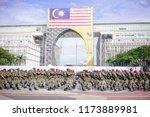 putrajaya  malaysia   aug 31st  ...   Shutterstock . vector #1173889981
