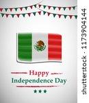 illustration of mexico... | Shutterstock .eps vector #1173904144