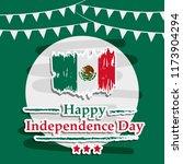 illustration of mexico... | Shutterstock .eps vector #1173904294