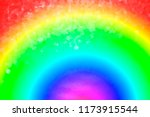 Rainbow Color Abstract...