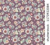 watercolor succulents seamless...   Shutterstock . vector #1173922084